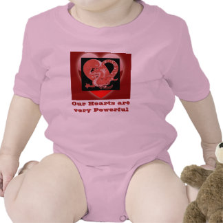 Our Hearts infant onsie creeper