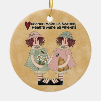 Our Hearts Sisters ornament