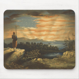 Our Heaven Born Banner Mouse Pad
