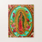 Our Lady Guadalupe Mexican Saint Virgin Mary Jigsaw Puzzle