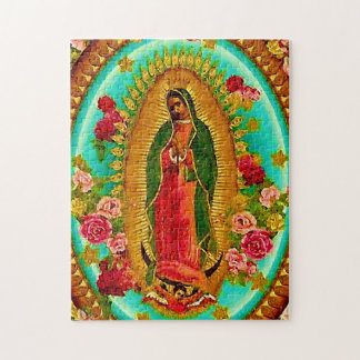 Our Lady Guadalupe Mexican Saint Virgin Mary Puzzles