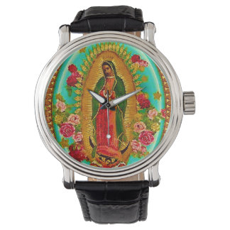 Our Lady Guadalupe Mexican Saint Virgin Mary Watches