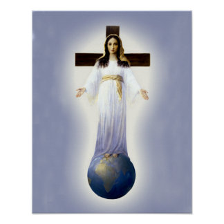 Our Lady of All Nations. Poster