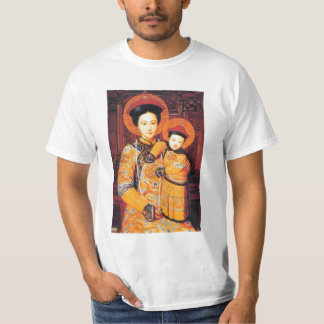 Our Lady of China (中华圣母, 中華聖母) Chinese Virgin Mary T-Shirt