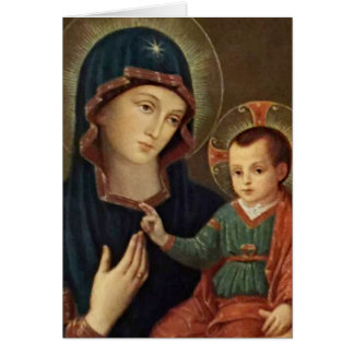 Our Lady of Consolation Child Jesus Card