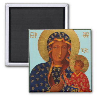 Our Lady of Czestochowa / Black Madonna Magnet