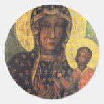 Our Lady of Czestochowa Stickers
