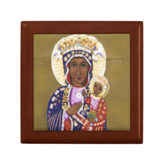 Our Lady of Czestochowa Treasure Box