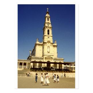 Our Lady of Fatima shrine, Lisbon Portugal Postcard
