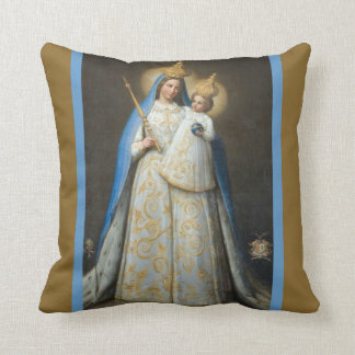Our Lady of Good Success Mary Jesus Cushion