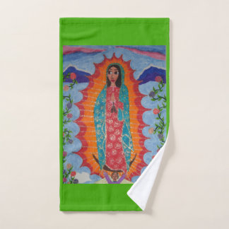 Our Lady of Guadalupe Bath Towel Set