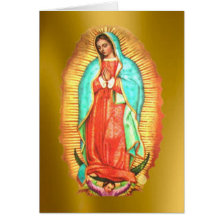 Our Lady of Guadalupe Card