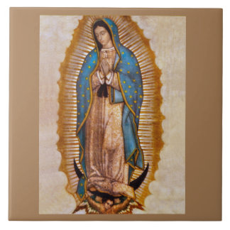 OUR LADY OF GUADALUPE CERAMIC TILE