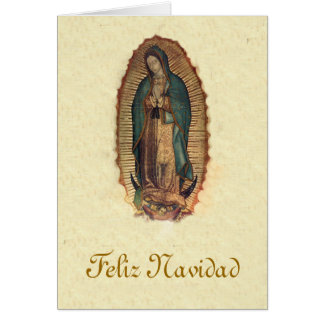 Our Lady of Guadalupe Christmas Card