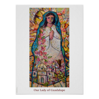 Our Lady of Guadalupe Classroom poster