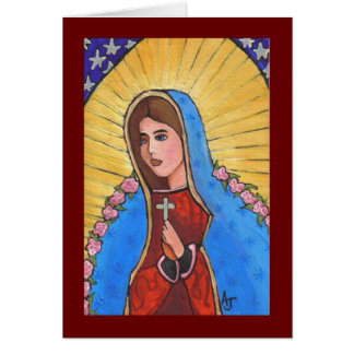 Our Lady of Guadalupe - greeting card