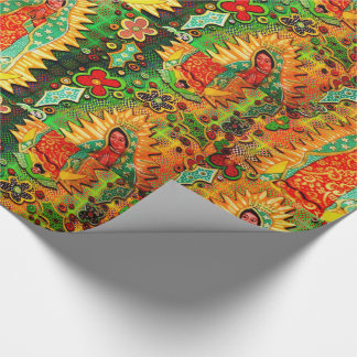 Our Lady of Guadalupe Mexico Wrapping Paper