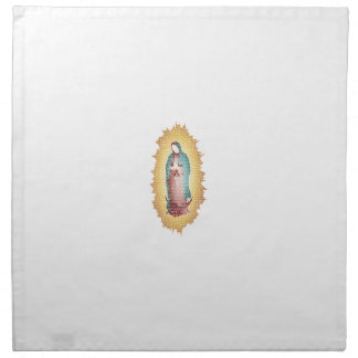 Our Lady Of Guadalupe Mosaic Design Napkin