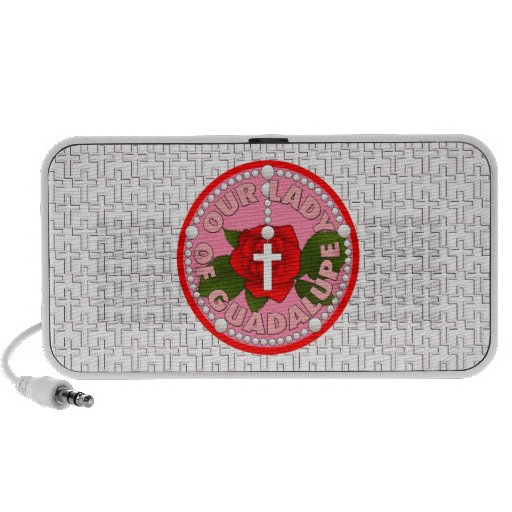 Our Lady of Guadalupe Notebook Speaker