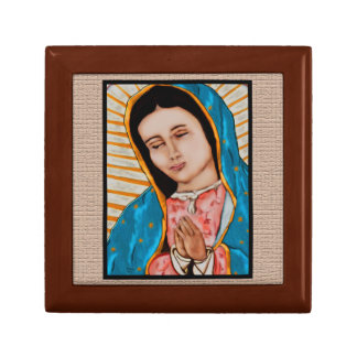 Our Lady of Guadalupe Treasure Box