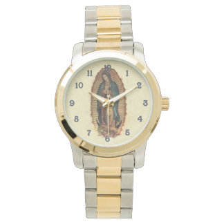 Our Lady of Guadalupe Vintage 0riginal Wristwatch