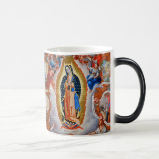 Our Lady of Guadalupe Virgin Magic Morphing Mug