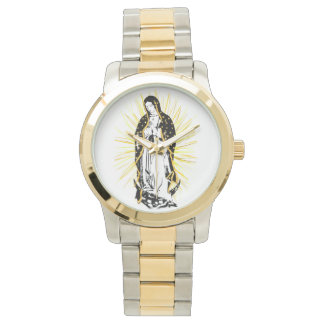 Our Lady of Guadalupe watch with rays