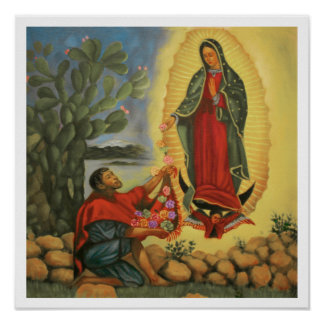 Our Lady of Gudalupe poster