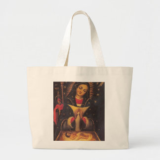OUR LADY OF HIGH GRACE LARGE TOTE BAG