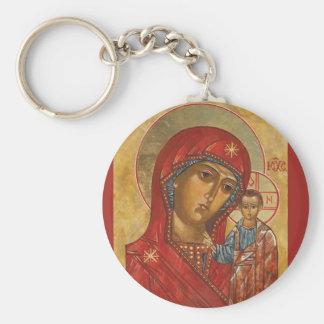 Our Lady of Kazan Key Ring