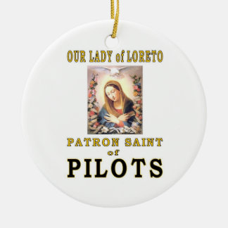 OUR LADY of LORETO Ceramic Ornament