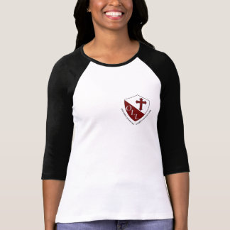 Our Lady of Lourdes Ladies Raglan Baseball Top