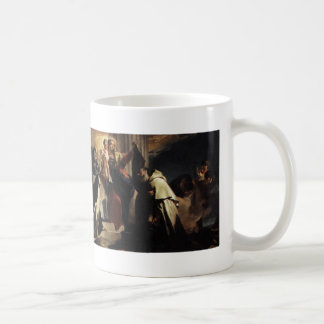 Our Lady of Mt Carmel and the Souls in Purgatory Coffee Mug