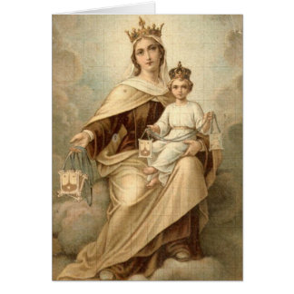 Our Lady of Mt. Carmel Mass Offering Card