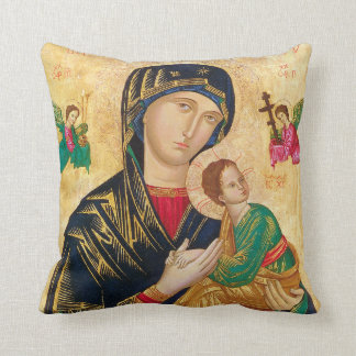 Our Lady of Perpetual Help Pillow GREAT GIFT