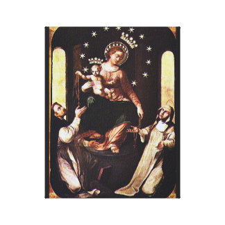 OUR LADY OF POMPEII CANVAS PRINT