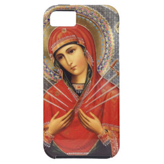 Our Lady of Sorrows Tough iPhone 5 Case