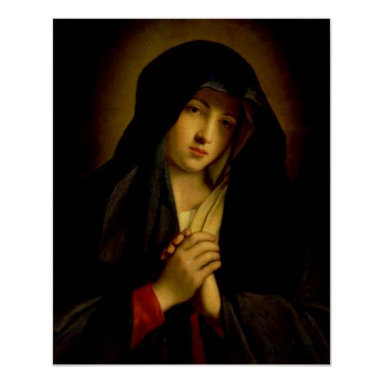 Our Lady of Sorrows Virgin Mary - Dolorosa Poster