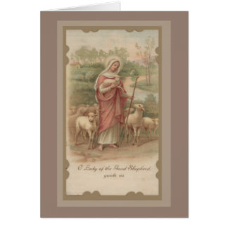 Our Lady of the Good Shepherd Card