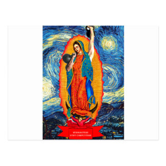 Our Lady of the KettleBells Postcard