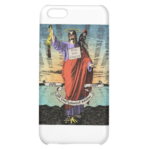 Our Lady of the Lowest Brow iPhone 5C Case