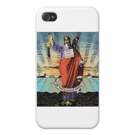 Our Lady of the Lowest Brow iPhone 4/4S Cases