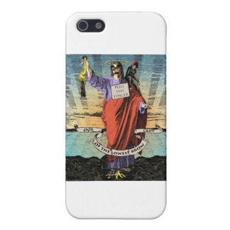 Our Lady of the Lowest Brow iPhone 5 Case