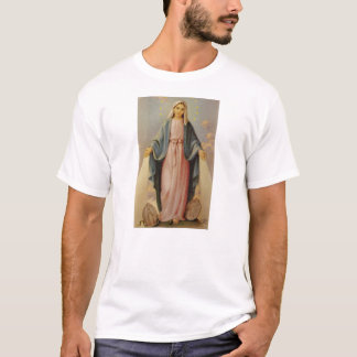 Our Lady of the Rosary Blessed Mother Mary T-Shirt
