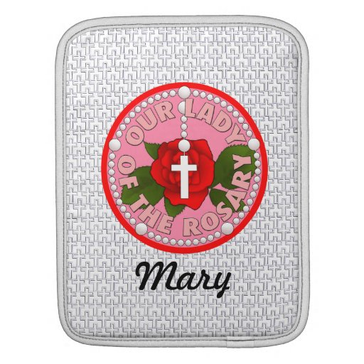Our Lady of the Rosary iPad Sleeve