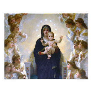 OUR LADY QUEEN OF ANGELS PHOTO ART