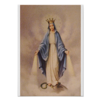 Our Lady Queen of Heaven Posters