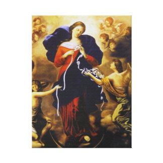 OUR LADY UNDOER OF KNOTS CANVAS PRINT
