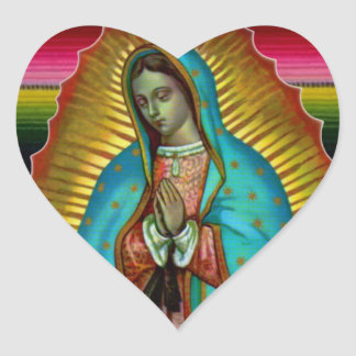 Our Lady Virgin Mary of Guadalupe Zarape Stickers