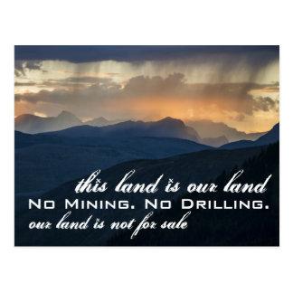Our Land: Glacier NP Postcard